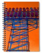 Post Apocalyptic Light Tower Spiral Notebook