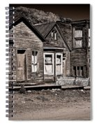 Post At Ten Thousand Feet Spiral Notebook