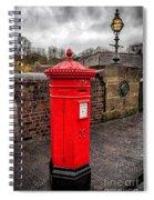 Post Box Spiral Notebook