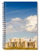 Post Hospital Ruins Fort Laramie Spiral Notebook