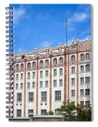 Post Palace In Budapest Spiral Notebook