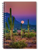Postcard Perfect Arizona Spiral Notebook
