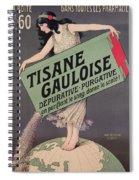 Poster Advertising Tisane Gauloise Spiral Notebook