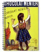 Poster Chocolate, 1893 Spiral Notebook