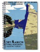 Poster National Park Spiral Notebook