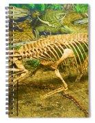 Postosuchus Fossil Spiral Notebook