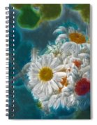 Pot Of Daisies 02 - S11bl01 Spiral Notebook