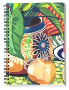 Pot With Onions Spiral Notebook
