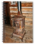 Potbelly Stove Spiral Notebook