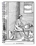 Potter, 1659 Spiral Notebook