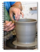 Potters Hands Spiral Notebook