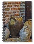 Pottery Corner Spiral Notebook