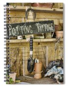 Potting Thyme Spiral Notebook