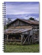 Pottsville Arkansas Historic Log Barn Spiral Notebook