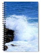 Pounding The Reef Spiral Notebook