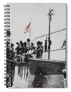 Pow Wow Days July 4th Rodeo Navajos Flagstaff Arizona 1969-2009  Spiral Notebook