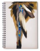 Pow Wow Regalia - White Spiral Notebook