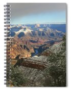 Powder Coated Canyon Spiral Notebook