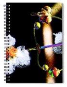 Powder Flower Spiral Notebook