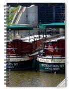 Powell Boats Spiral Notebook