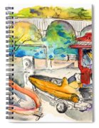 Power Boats World Championship In Barca De Alva 03 Spiral Notebook
