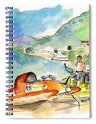 Power Boats World Championship In Barca De Alva 04 Spiral Notebook