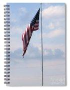 Power Flag Spiral Notebook