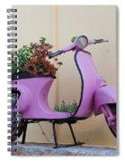 Power Flower Spiral Notebook