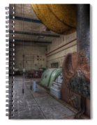 Power Generator Spiral Notebook