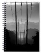 Power In The Morning Mist Spiral Notebook