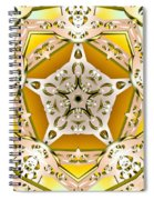 Power Of Gold Spiral Notebook