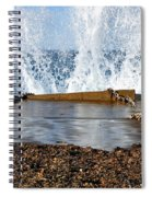 Power Of The Sea Spiral Notebook