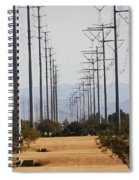 Power Poles  Spiral Notebook
