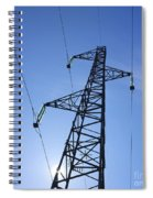 Power Pylon Spiral Notebook