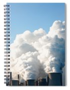 Power Station Plumes. Spiral Notebook