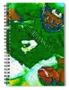Power Tailback Power Spiral Notebook