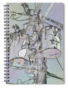 Power To The People Spiral Notebook