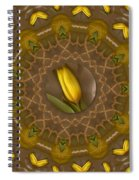 Power To The Tulips Pop Art Spiral Notebook