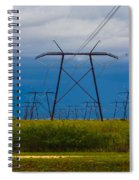 Power Towers Spiral Notebook