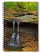 Powerful Trickle Spiral Notebook