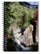 Powerhouse On The Crystal Spiral Notebook