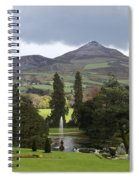 Lake And Garden Spiral Notebook