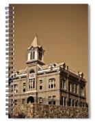 Powhantan Court House Sepia 2 Spiral Notebook