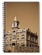 Powhatan Court House Sepia 5 Spiral Notebook