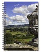 Powis Castle Garden Urn Spiral Notebook