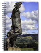 Powis Castle Statuary Spiral Notebook