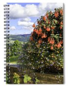 Powis Castle Terrace Spiral Notebook