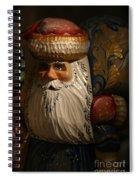 Pozdravlyaus Prazdnikom Rozhdestva Spiral Notebook