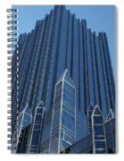 Ppg Place Pittsburgh Spiral Notebook