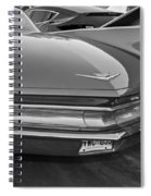 Practicality Be Damned Monochrome Spiral Notebook